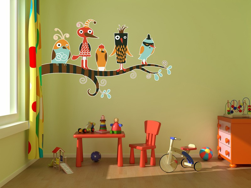 How to decorate a safe and childish kids room lovecozyhome Vintage childrens room decor